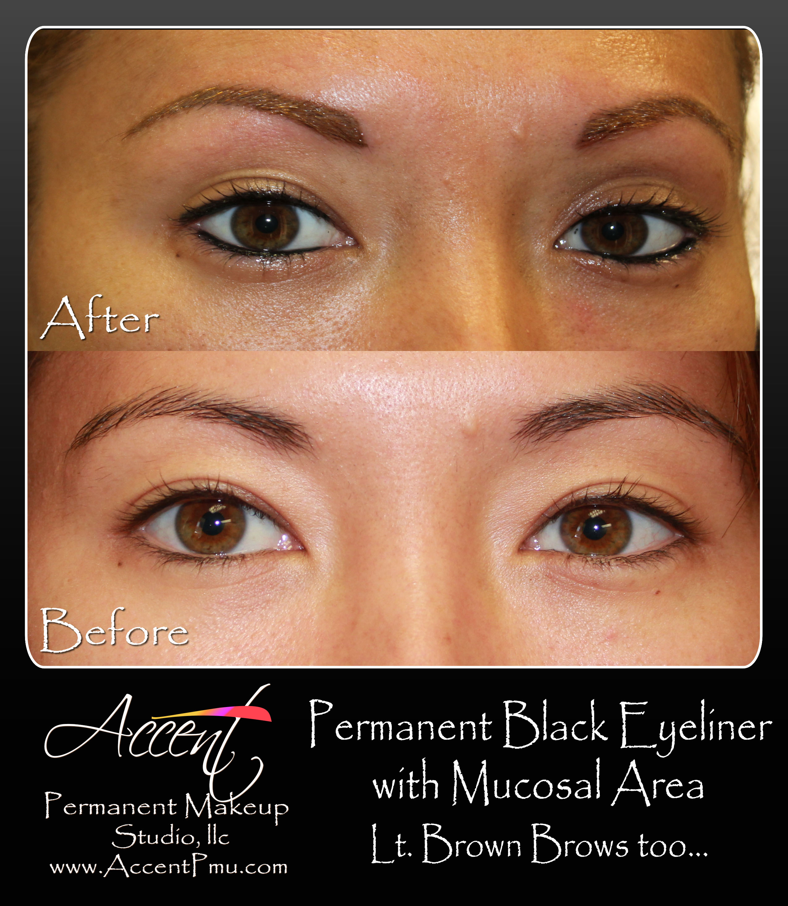 Accent Permanent Maekup Eyebrows