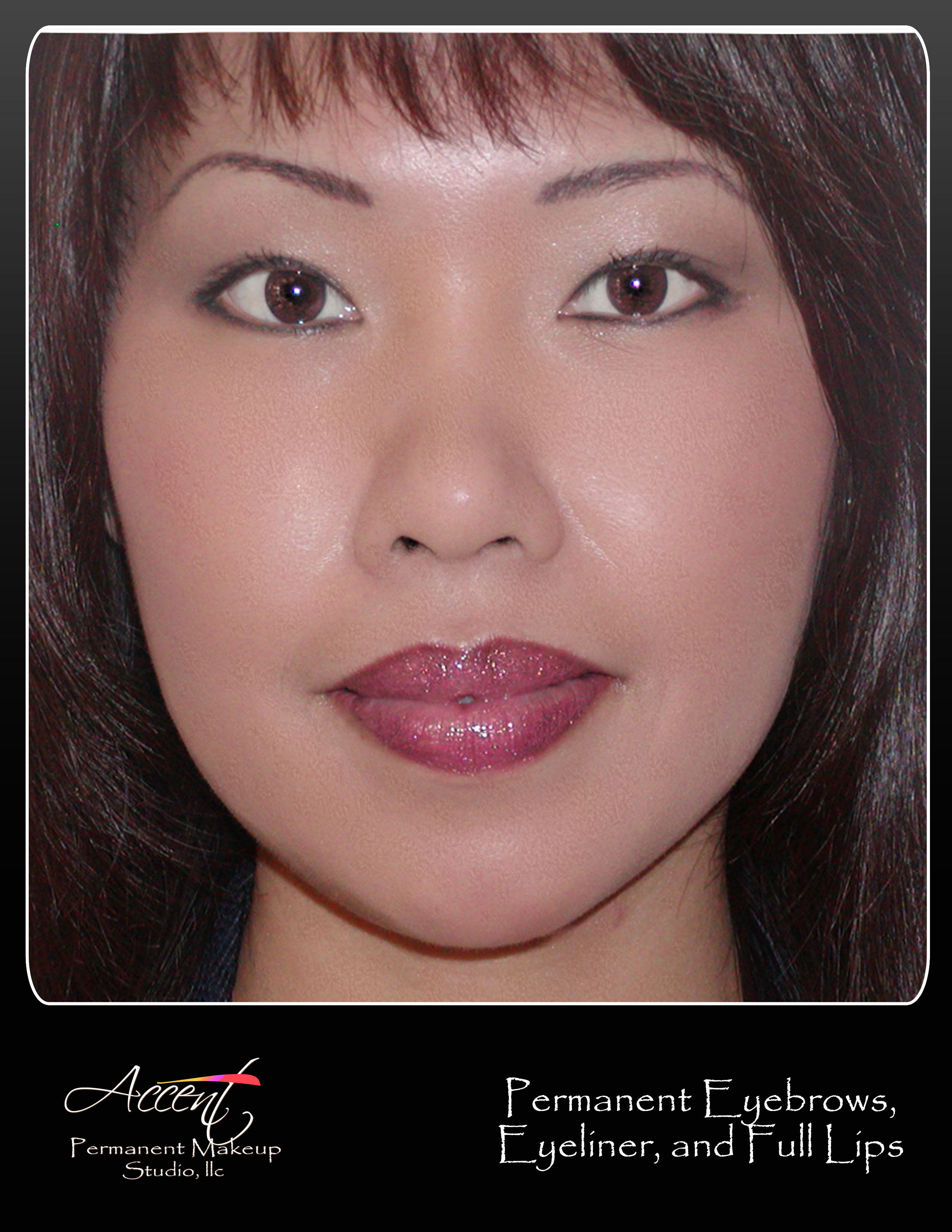 Permanent Makeup Eyebrows, Eyeliner, and Lips