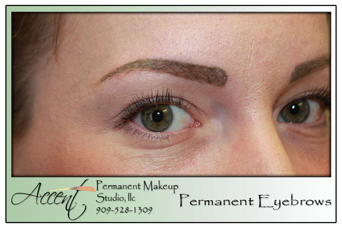 Permanent makeup eyebrows for Eyebrow tattoo aftercare instructions