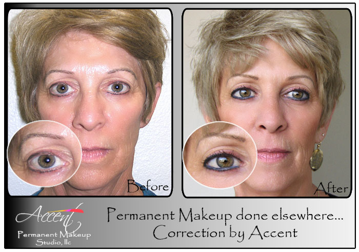 Eyeliner Accent Permanent Makeup