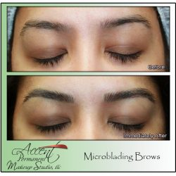 Microbladed Brow Improved Shape