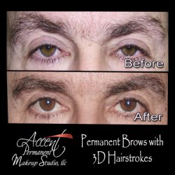 Fuller brows shading for men