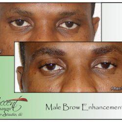 BROW ENHANCEMENT MAKES MEN NOTICEABLY MORE ATTRACTIVE